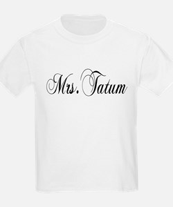 Mrs. Tatum Kids T-Shirt