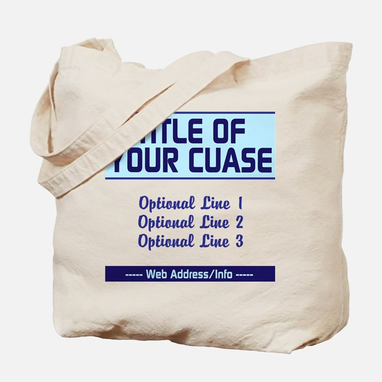 Fundraiser Event Tote Bag