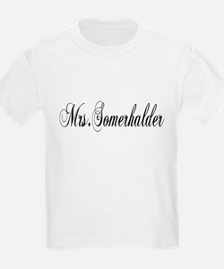 Mrs. Somerhalder Kids T-Shirt