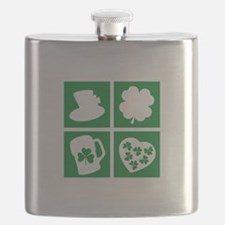St. Patrick's Day Flask