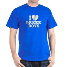 I Love Greek Boys T-Shirt