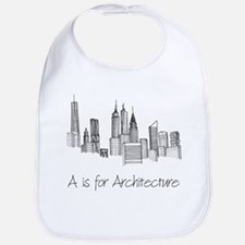 A is for Architecture Skyline Bib