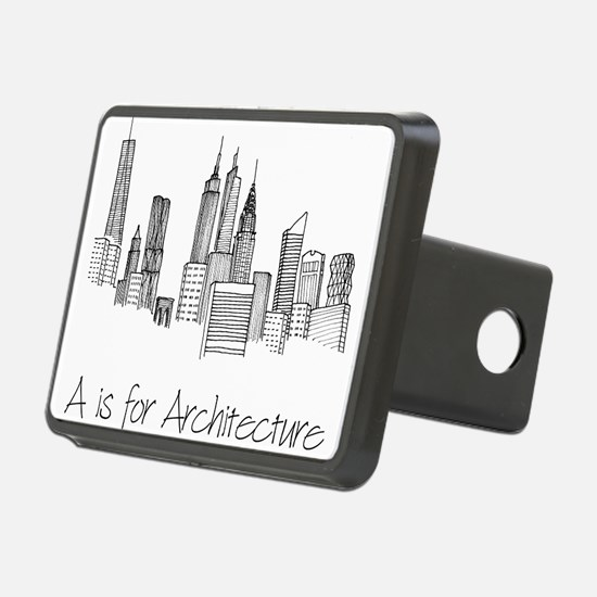 A is for Architecture Skyline Hitch Cover