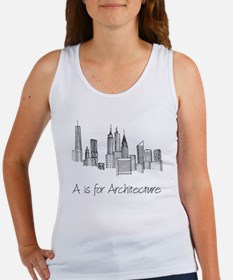 A is for Architecture Skyline Tank Top