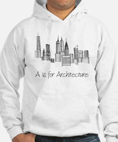 A is for Architecture Skyline Hoodie