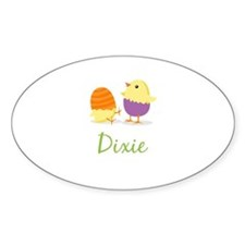 Easter Chick Dixie Bumper Stickers