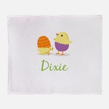 Easter Chick Dixie Throw Blanket