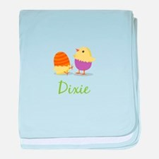 Easter Chick Dixie baby blanket