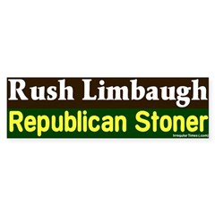 Stoner Rush Limbaugh Bumper Bumper Sticker