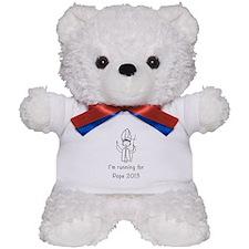 I'm running for Pope Teddy Bear