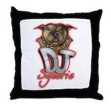 Dj Sycotic Throw Pillow