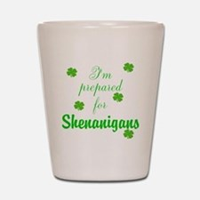 Shenanigans Preparation Shot Glass