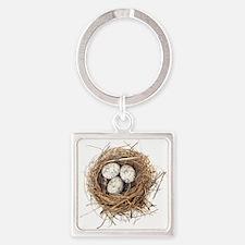 Nest Square Keychain