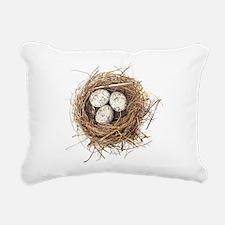 Nest Rectangular Canvas Pillow