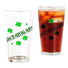Shenanigans Drinking Glass