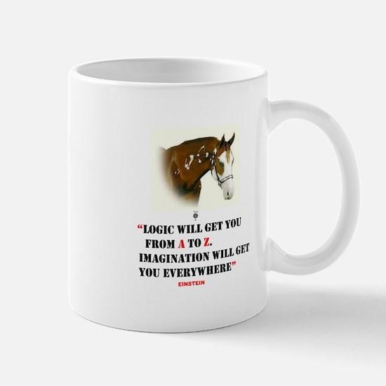 Einstein: Imagination Will Get You Everywhere Mug