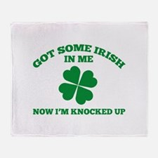Got Some Irish In Me Stadium Blanket
