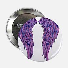 "Angel Wings 2.25"" Button"