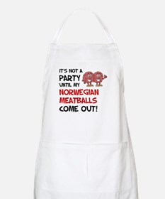 Norwegian Meatballs Apron