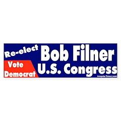Re-elect Bob Filner Bumper Bumper Sticker