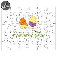 Easter Chick Esmeralda Puzzle