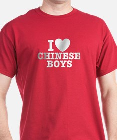 I Love Chinese Boys T-Shirt