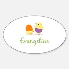 Easter Chick Evangeline Decal