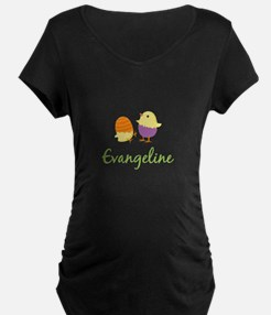 Easter Chick Evangeline Maternity T-Shirt