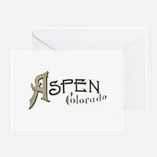 Aspen Colorado Greeting Card
