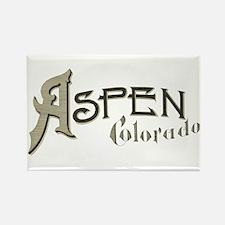 Aspen Colorado Rectangle Magnet