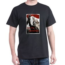 Uncountable Strength -red and black t-shirt