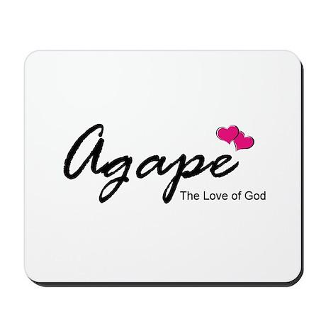 Agape Love Mousepad