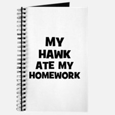 My Hawk Ate My Homework Journal