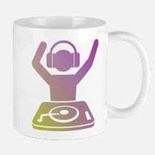 Multicolored DJ Mug