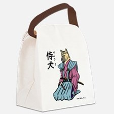 Samurai_shirt.png Canvas Lunch Bag