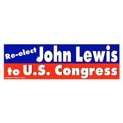 Re-elect John Lewis Bumper Bumper Sticker