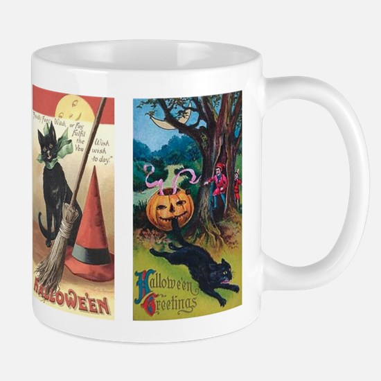 Gifts for vintage halloween unique vintage halloween for Mug handle ideas