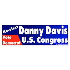 Re-elect Danny Davis Bumper Bumper Sticker