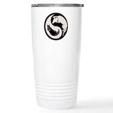 Dog-Cat Yin-Yang Travel Coffee Mug