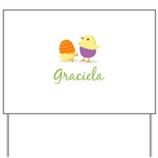 Easter Chick Graciela Yard Sign
