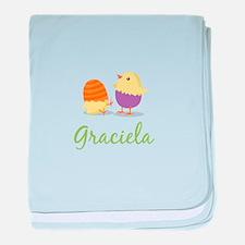 Easter Chick Graciela baby blanket