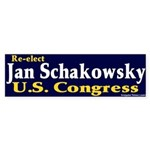 Re-elect Jan Schakowsky Bumper Sticker