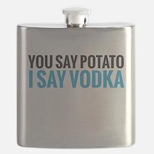 i say vodka Flask