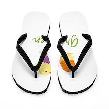 Easter Chick Gretchen Flip Flops