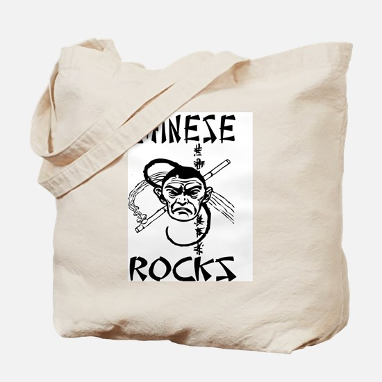 Chinese Rocks Tote Bag