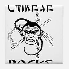 Chinese Rocks Tile Coaster