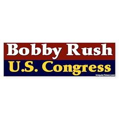 Re-elect Bobby Rush Bumper Sticker