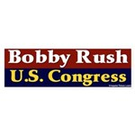 Re-elect Bobby Rush Bumper Sticker