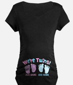 We're Girl and Boy Twins Cu T-Shirt