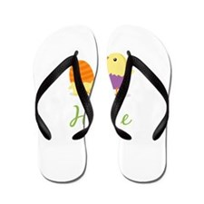 Easter Chick Hallie Flip Flops